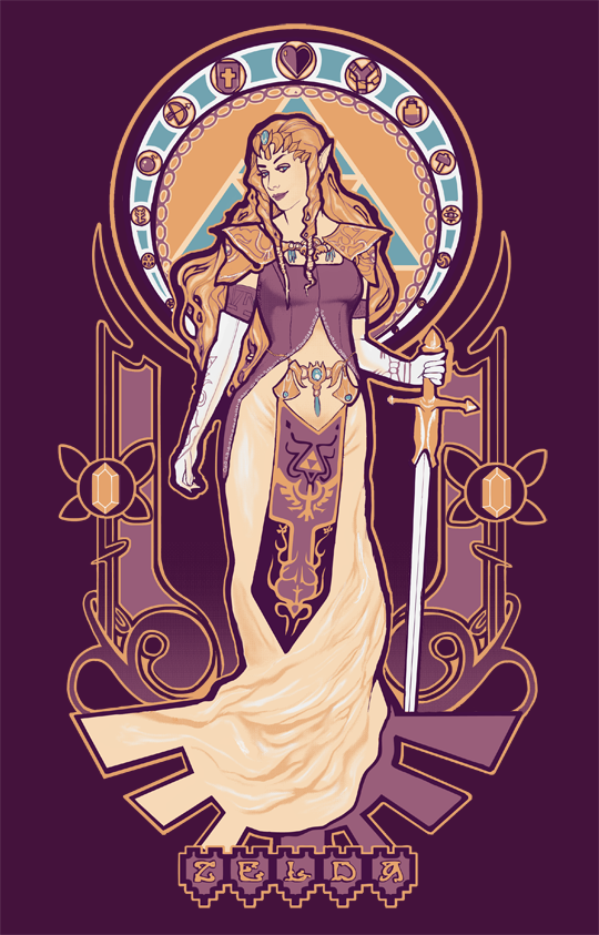 Art Nouveau And Gaminghow Can You Go Wrong Art Nerd