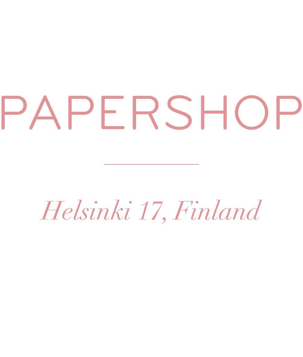 Papershop | Lahjapaperit, kortit, muistikirjat