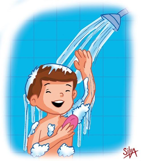 Bano Diario En Ninos Importancia Miercoles 12 De Diciembre De 2012 Ninos Dibujos Para Ninos Habitos De Higiene Personal