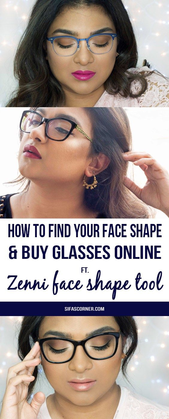 New Glasses How I Picked Them With Zenni Face Shape Quiz How I