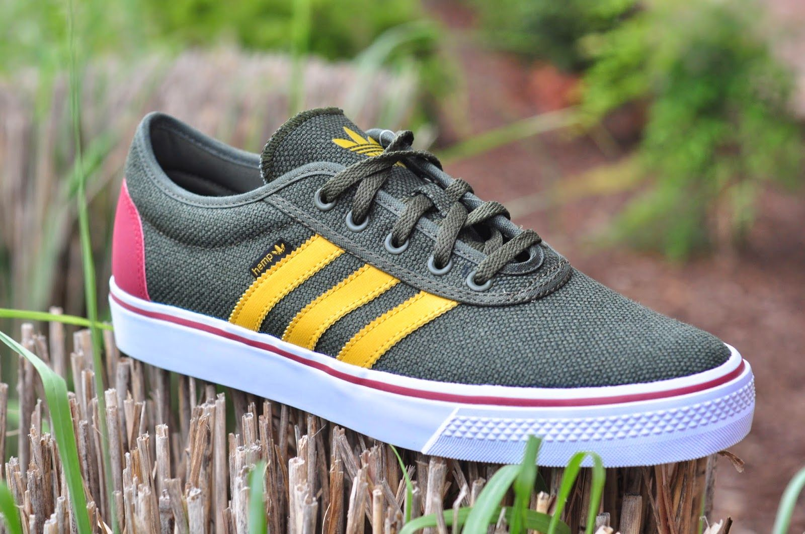 An Adidas Adi Ease in this great Hemp color. Grab it! Your