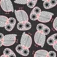 eine kleine fabric | owl pattern ♥ Eine Kleine Design Studio