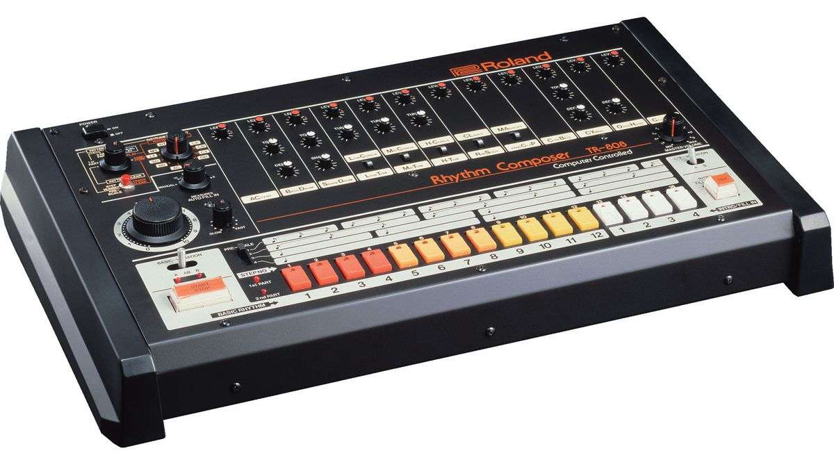 Roland's TR808 drum machine has finally been inducted
