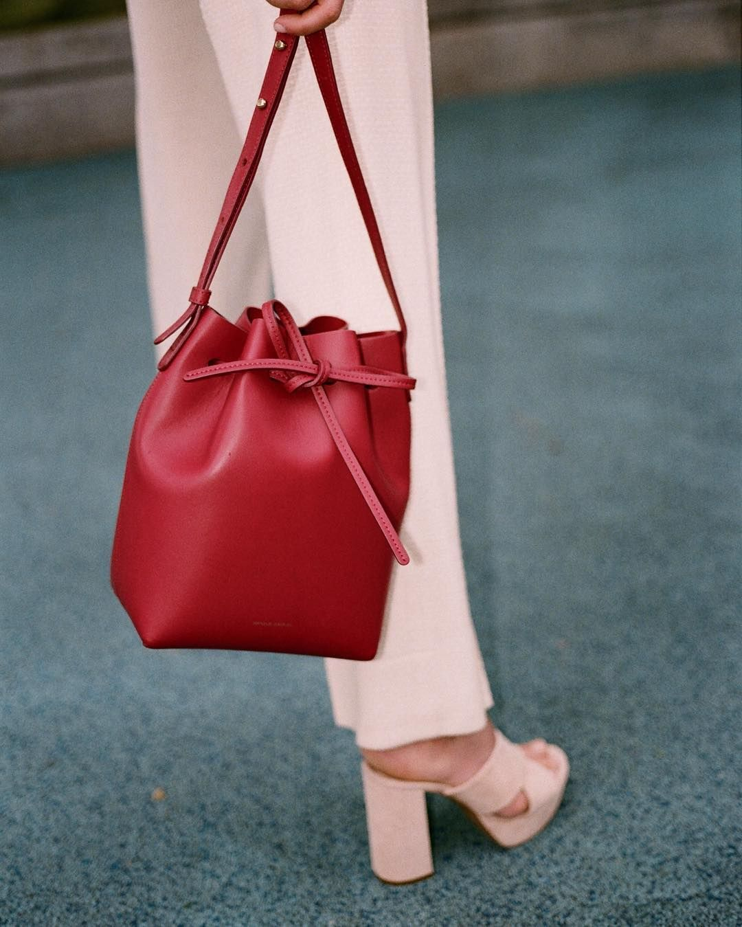 MINI BUCKET BAG ROCOCO AVAILABLE AT  netaporter by mansurgavriel ... b1212c5777038