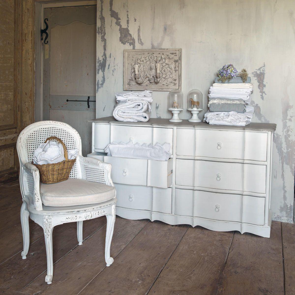 fauteuil en lin blanc segur maisons du monde maison de. Black Bedroom Furniture Sets. Home Design Ideas