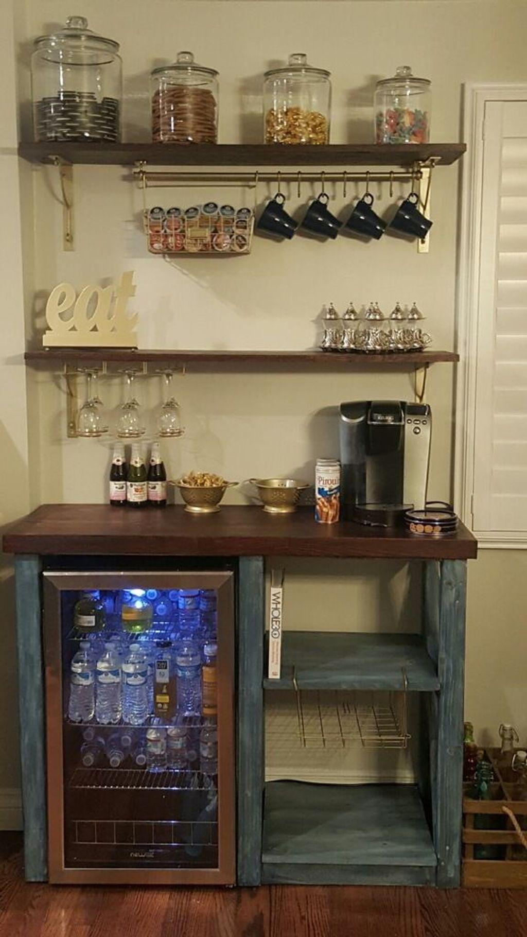 30 Elegant Mini Bar Design Ideas That You Can Try On Home Haus Deko Dekor Und Kuchendekoration
