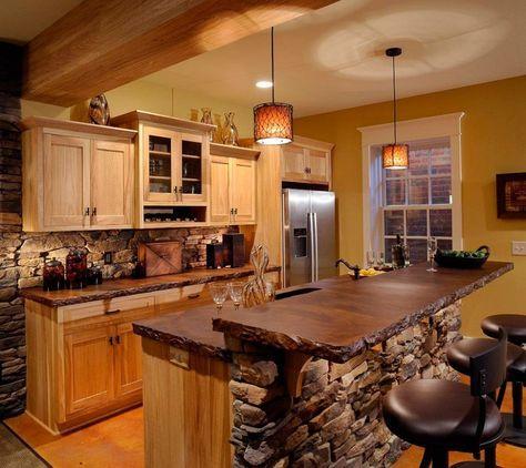 Decorar cocinas peque as r sticas decoraci n cocinas - Cocinas rusticas pequenas ...