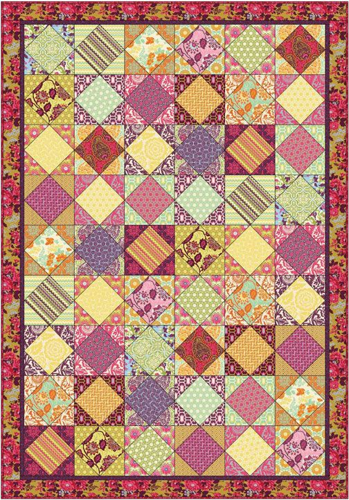 Lots of free patterns to download - shows them made in current ... : fabric lines for quilting - Adamdwight.com