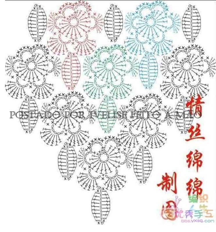 573_184415515083582_334791161_n.jpg (744×800) | Crochet afghans ...