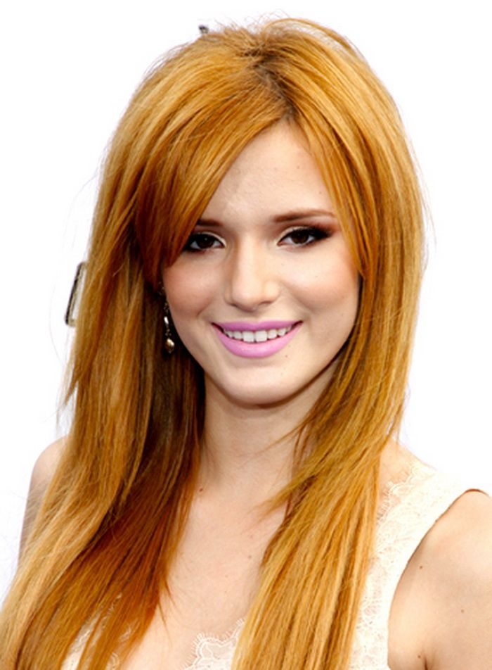 Hairstyle Ideas For Long Thick Straight Hair Best 2017 Bangs Hair