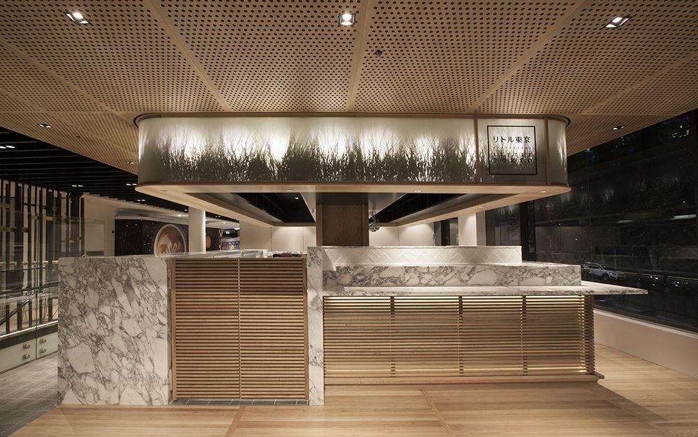 Little Tokyo Studio Mkz Japanese Restaurant Interior
