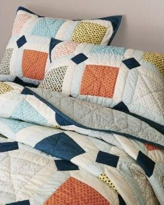 bedding sales tiled quilt quilted