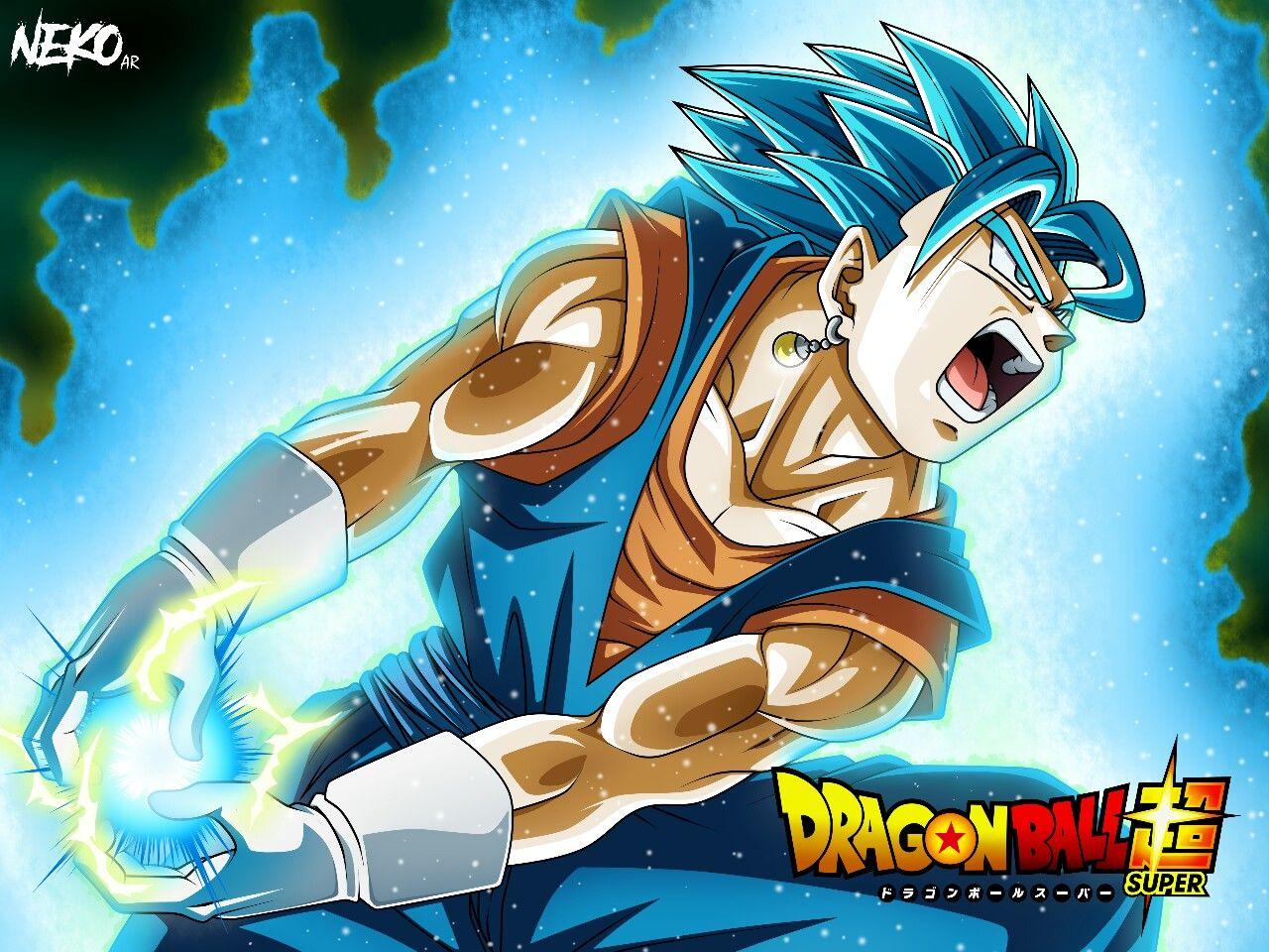 Vegetto Final Kamehameha Dragon Ball Super Manga Dragon Ball Super Goku Anime Dragon Ball Super