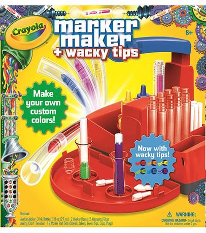 Crayola Marker Maker With Wacky Tips Red Toys Stuff