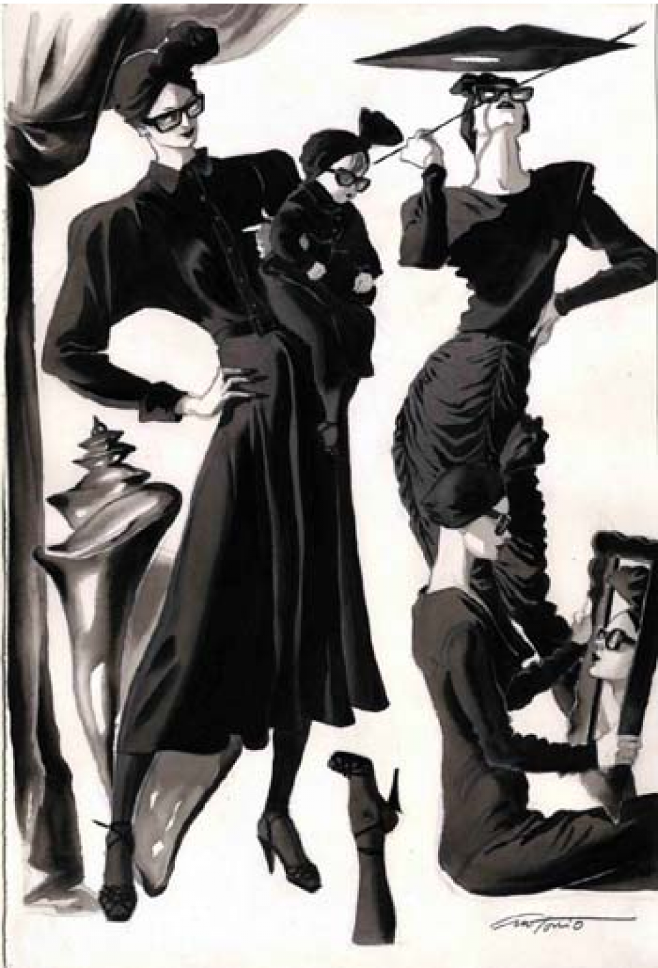 Antonio Lopez for Nordstrom, 1985