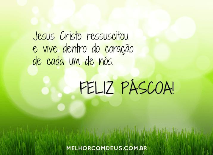 Cristo Ressuscitou E Vive Em Nossos Corações Feliz Páscoa