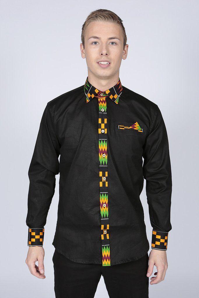 Blackfriars Shirt | Africans, African fashion and Ankara Ankara Print Men