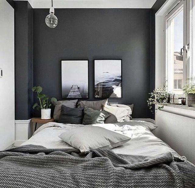 Best Dark Grey Walls Gray Bedroom Walls Small Master Bedroom 400 x 300