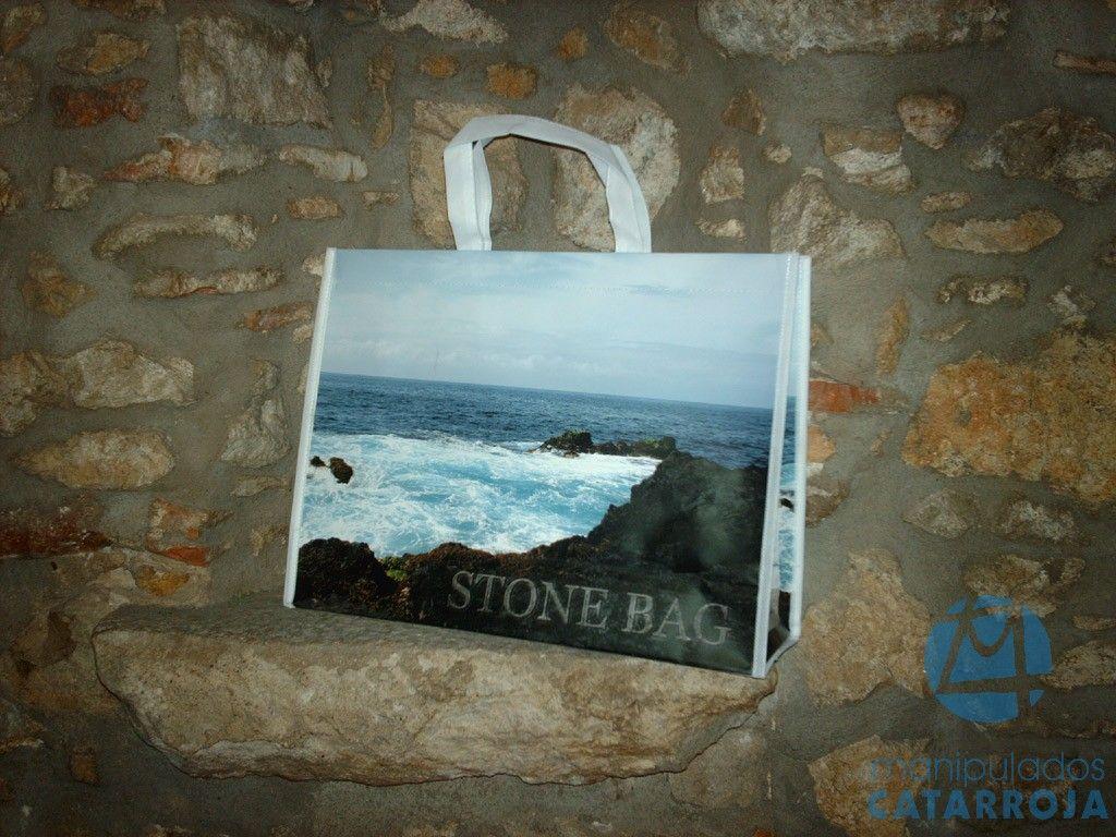 bolsas de lujo de papel piedra
