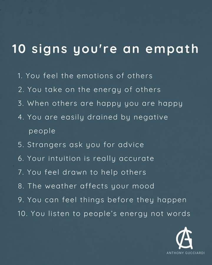 Always Tired And Have No Energy You Might Be An Empath Health Empathy Quotes Empath Intuitive Empath