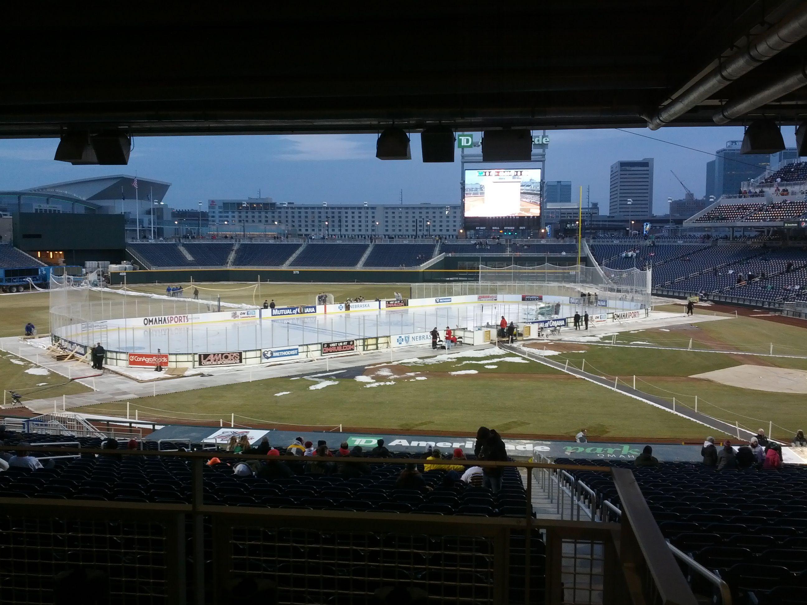 Lincoln Stars Vs Omaha Lancers Battles On Ice 2013