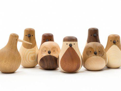 de dr les d 39 oiseaux en bois tourn design brainfood jolis objets pinterest bois tourn. Black Bedroom Furniture Sets. Home Design Ideas