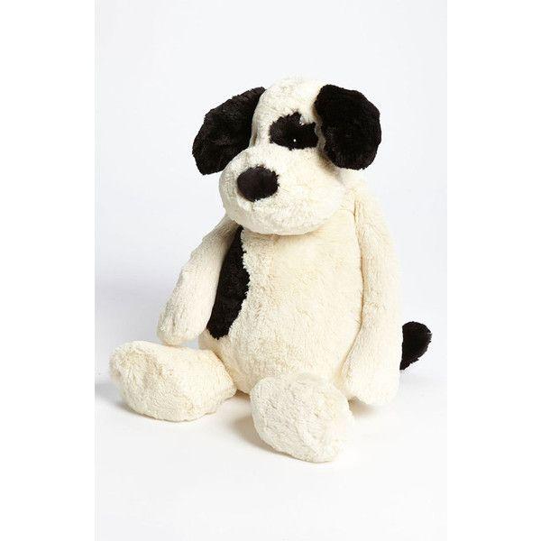 Jellycat 'Bashful Puppy - Large' Stuffed Animal ($56) ❤ liked on Polyvore