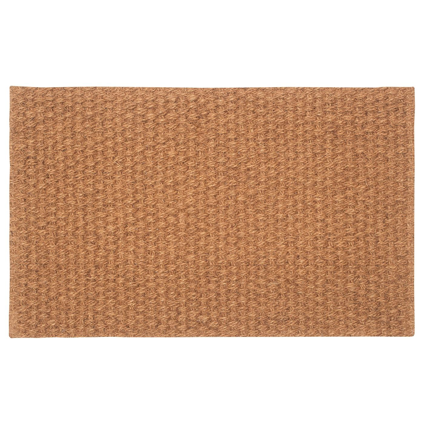 Ikea Sindal Door Mat Natural Easy To Keep Clean Just Vacuum Or Shake The Rug The Backing Keeps The Door Mat Firmly In P Door Mat Ikea Natural Door Mats