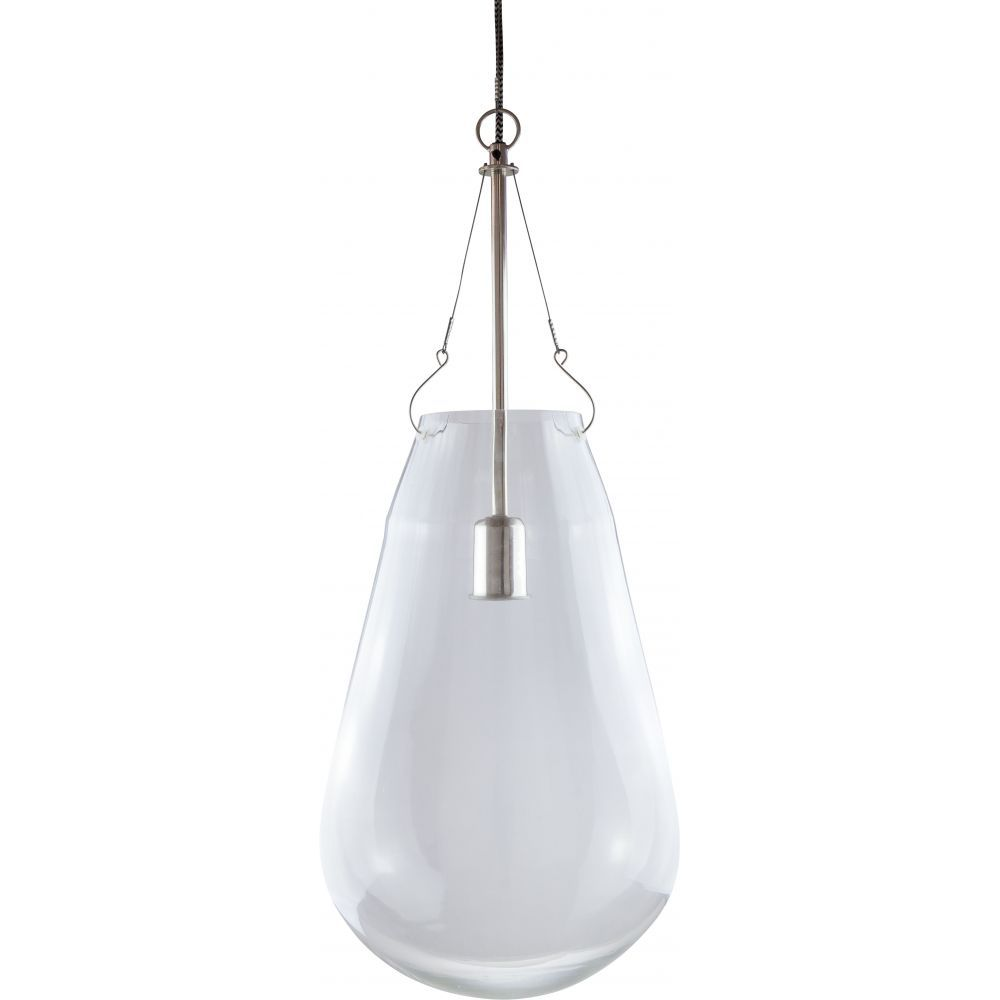 Float glass pendant antique nickel glass shades glass