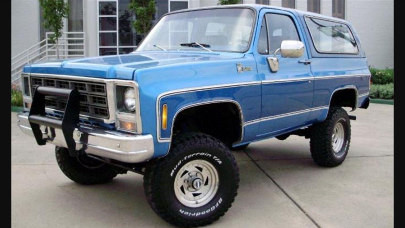 Blazer Lifted Chevy Trucks Classic Chevy Trucks Chevrolet Blazer