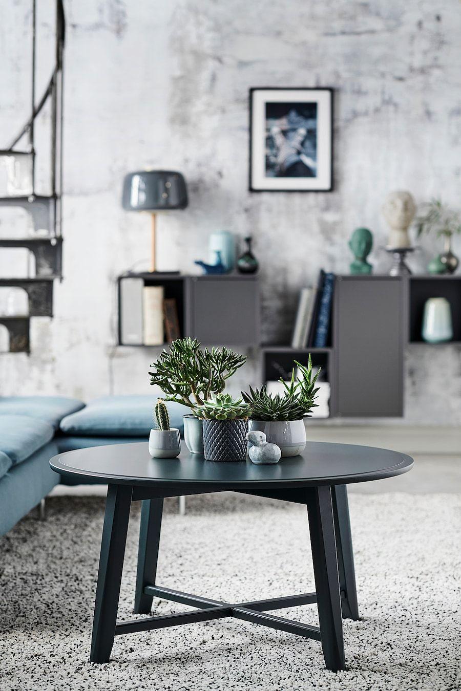 Kragsta Coffee Table Black 353 8 90 Cm Ikea In 2021 Ikea Coffee Table Coffee Table Black Coffee Tables [ 1350 x 900 Pixel ]