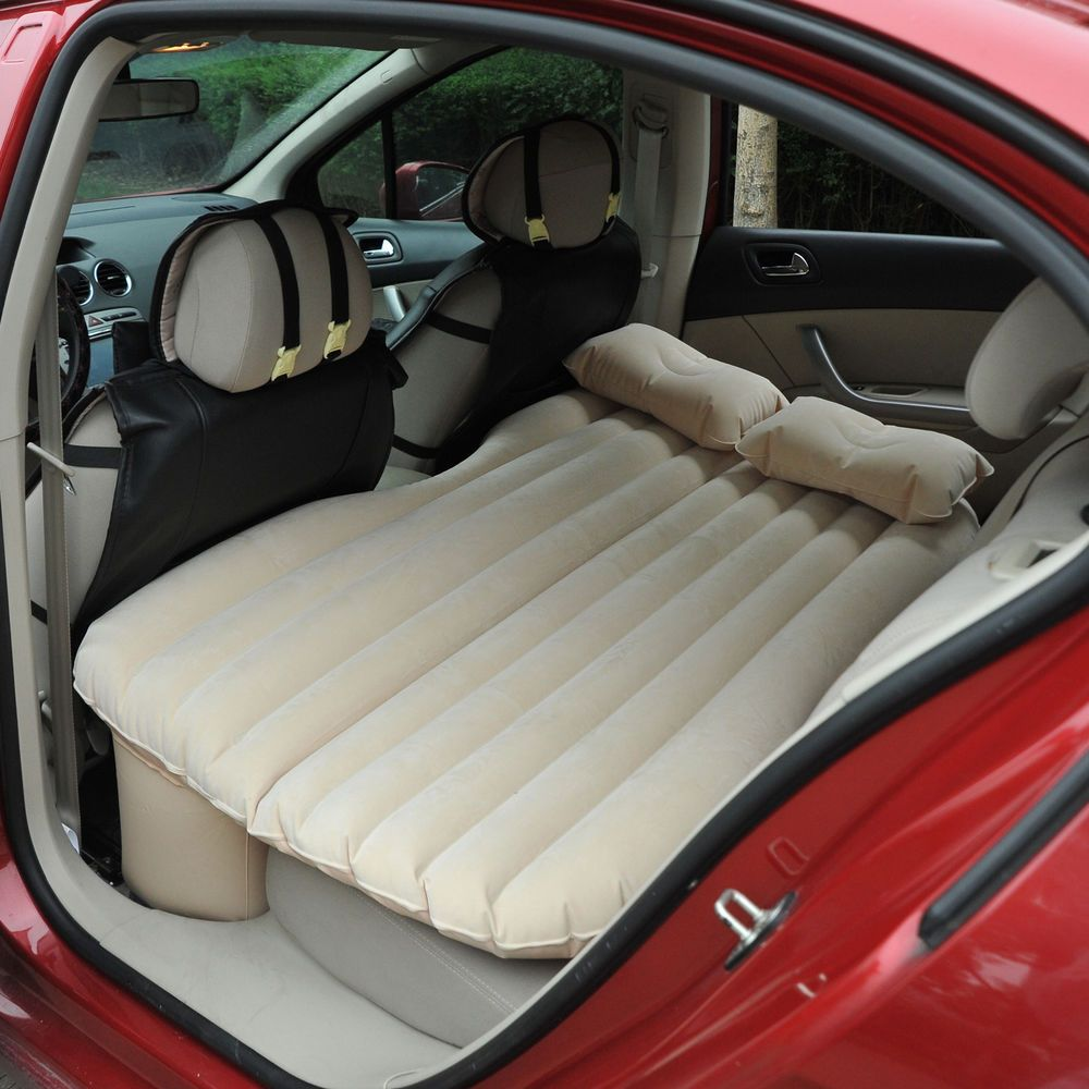 Back Seat Bed Outsunny Car Travel Inflatable Mattress Vehicle Back Seat Bed