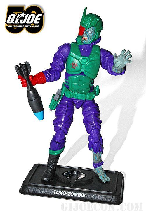 GIJOE Figure 100/% Complete JOECON Zombie Initiative 2014 Toxo-Vipers V.1