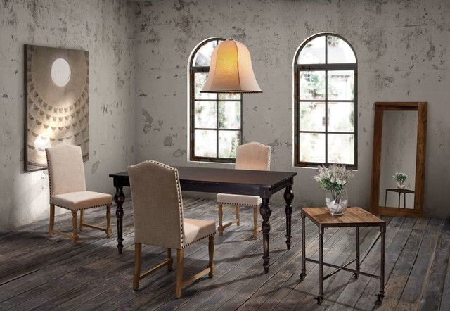 Dining Table Set 7 Piece Granite Dining Table Contemporary Dining Room Furniture Sets 640x442 Dining Room Design Ideas