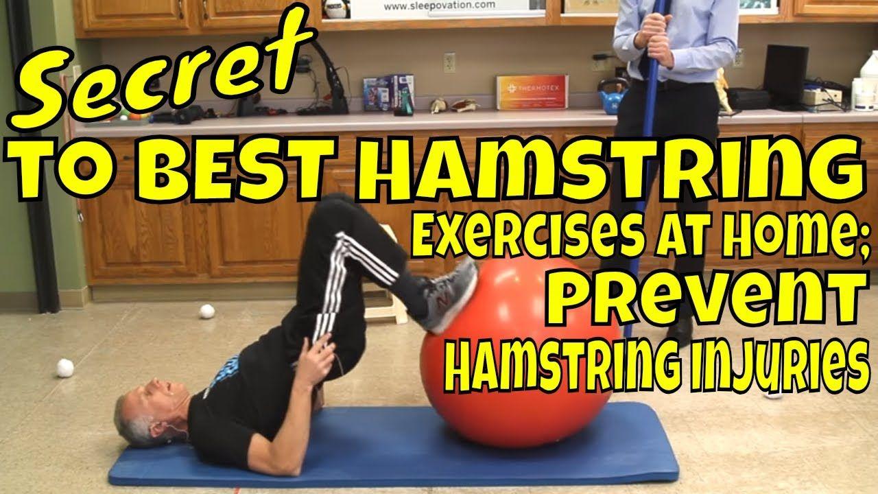 Secret to best hamstring exercises at home prevent hamstring
