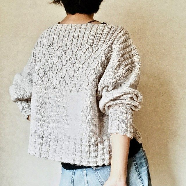 Japanese Sweater Shapes #knittinginspiration