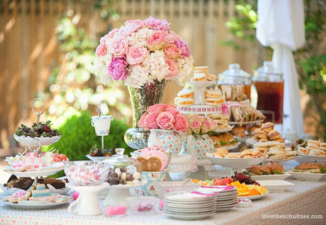 Bridal Shower Bliss English Tea Party Tea Party Bridal Shower Afternoon Tea Wedding