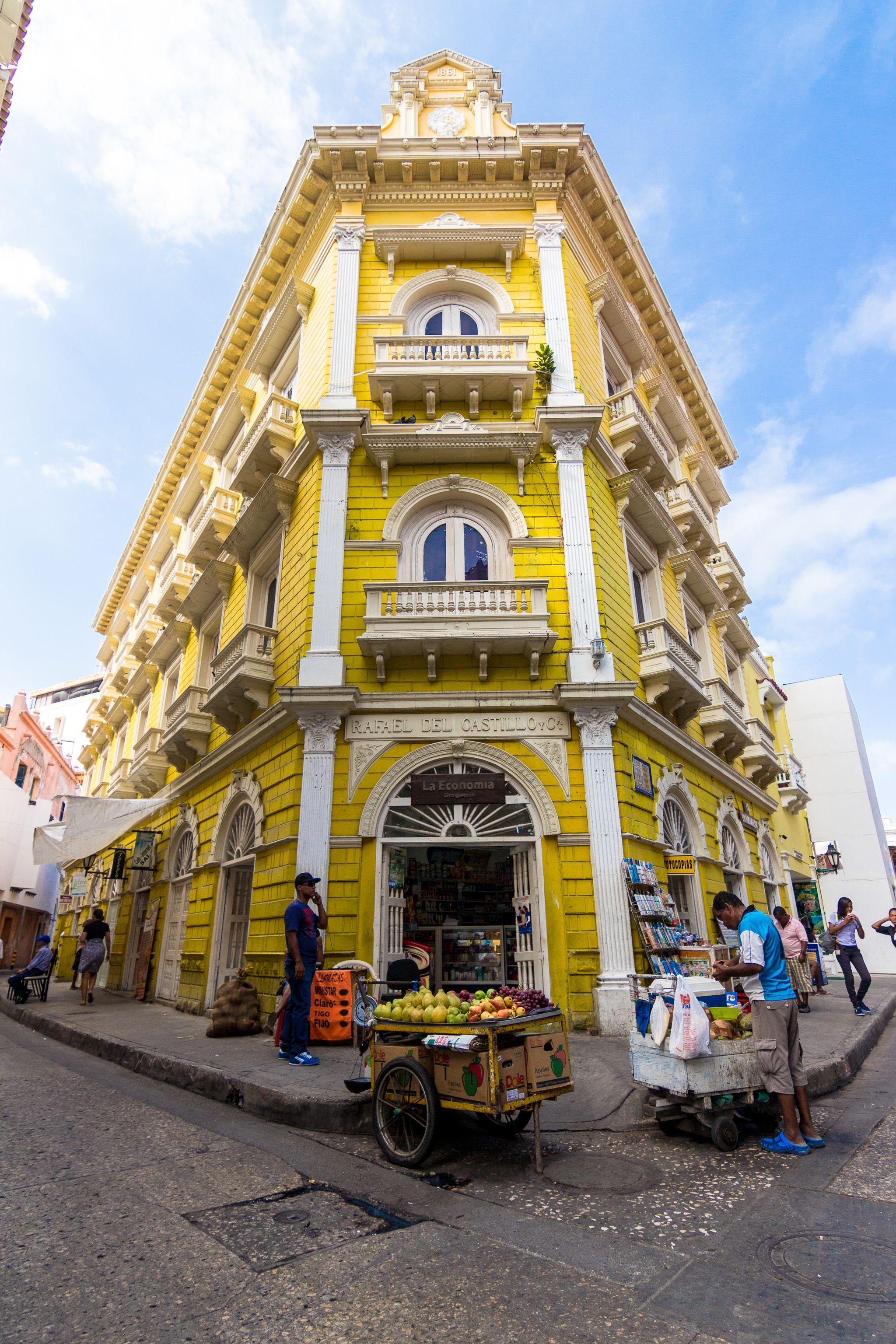 Colombia and its impressive architecture.