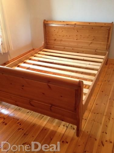King Sleigh Bed Frame For Sale In Wexford On Donedeal Bedroom
