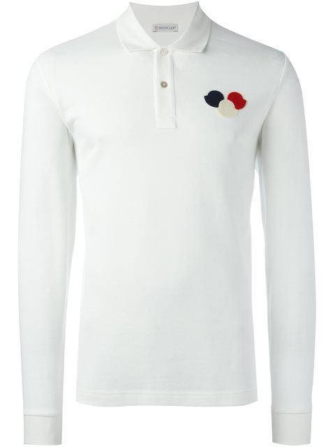 white moncler long sleeve