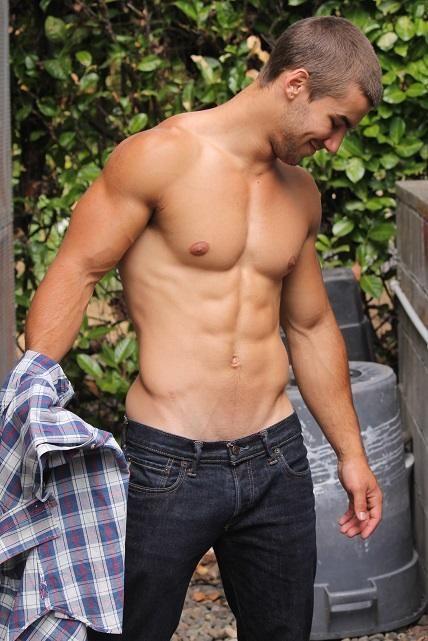 Hot guys undressing
