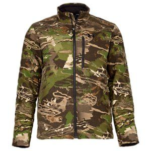 3fc888e8f8d58 Under Armour Stealth Extreme Wool Jacket for Men - Ridge Reaper Camo Forest  - M
