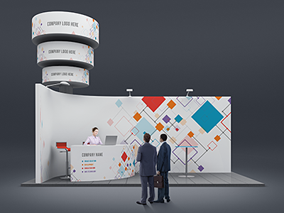 Trade Show Booth Mock Ups Tradeshow Booth Show Booth Trade Show Design