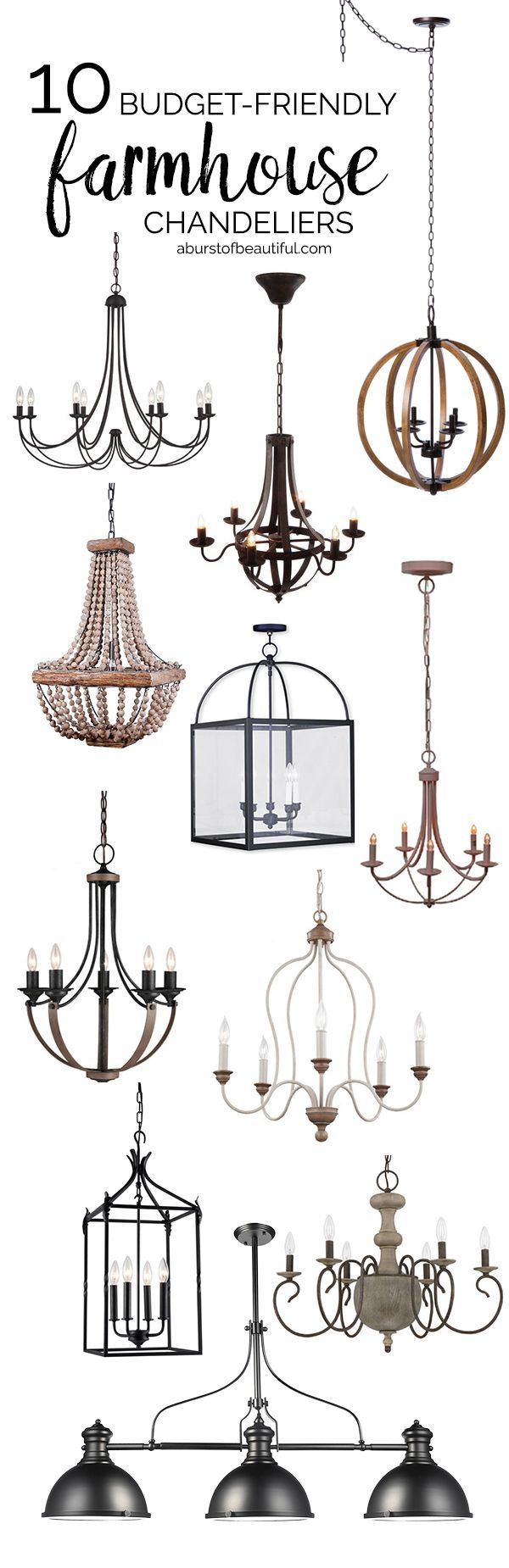 budget friendly farmhouse chandeliers farmhouse chandelier
