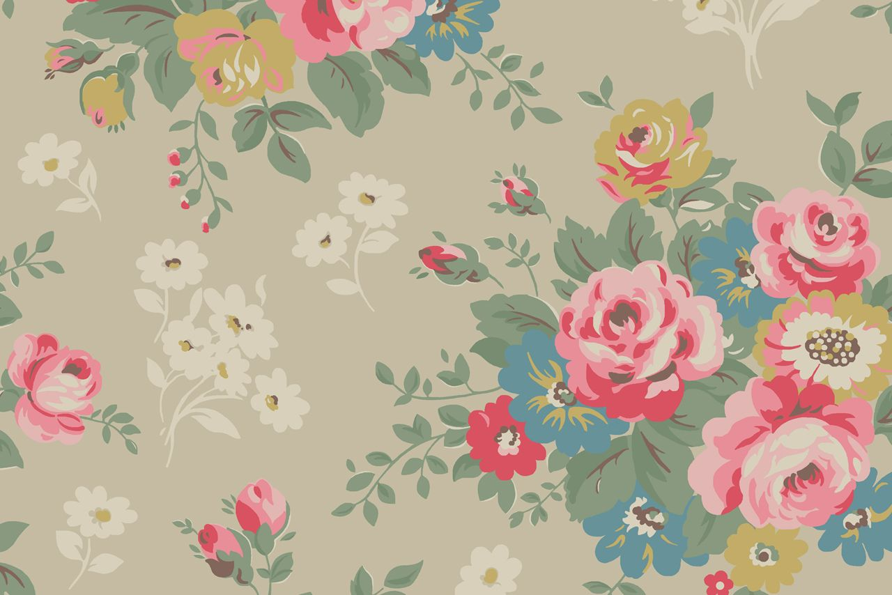 30 Gorgeous Wallpapers For Your Desktop Cath Kidston Wallpaper Flower Wallpaper Free Desktop Wallpaper