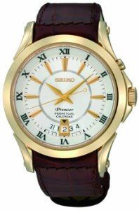 Men S Seiko Premier Perpetual Calendar Watch Seiko 296 24
