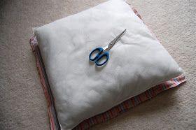 Lemon Tree Creations: Shut Up and Sew: Shirt Pillow Tutorial