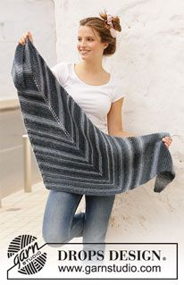 Wings of a Dove / DROPS 211-24 - Free knitting patterns by DROPS Design