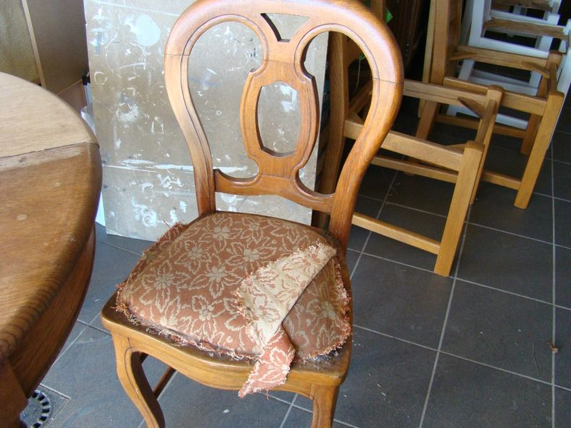 Chaises Louis Philippe Relookee Relooking Meubles Interieur Relooker Meuble Relooking Meuble Chaise Louis Philippe