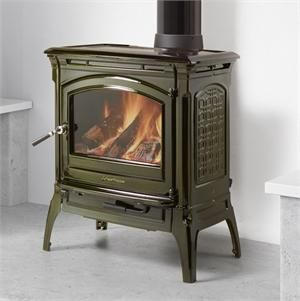 HearthStone Craftsbury Wood Stove in Brown